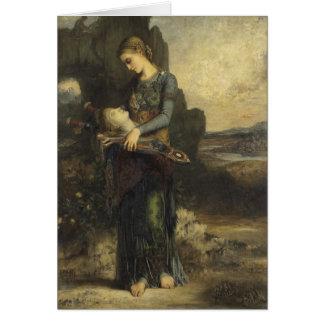 Orphée par Gustave Moreau Carte