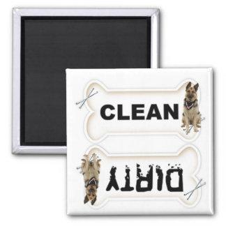 Os sales ou propres d'aimant de lave-vaisselle pou magnet carré