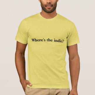 Où est l'indépendant ? T-shirt