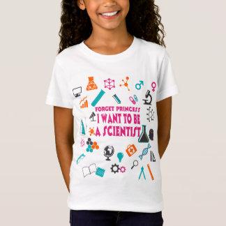 Oubliez princesse I Want To Be un T-shirt de