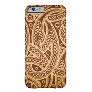 Oud stijl vectorpatroon barely there iPhone 6 hoesje