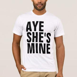 Oui elle est T-shirt de mine