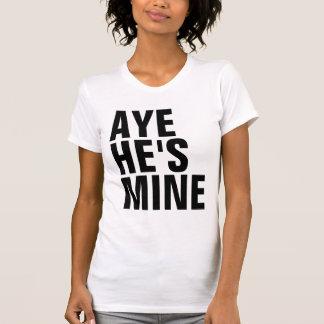 Oui il est T-shirt de mine