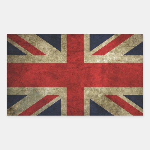 Oui nous sommes britanniques ! ! stickers en rectangle