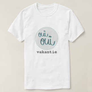 Oui Oui vacances le t-shirt