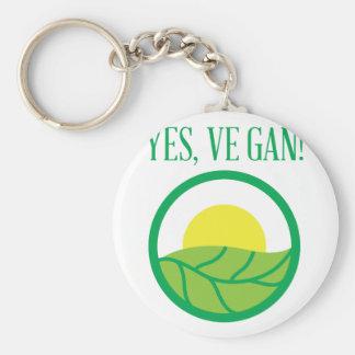 Oui végétalien ! porte-clés