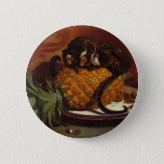 Ouistitis brésiliens par Edwin Henry Landseer Badge Rond 5 Cm