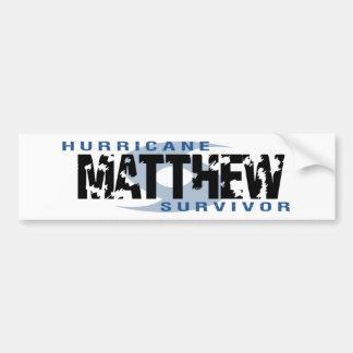 Ouragan Matthew en octobre 2016 Autocollant De Voiture
