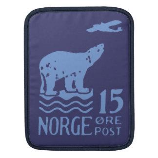 Ours blanc 1925 norvégien poches pour iPad