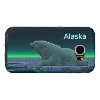 Ours blanc de bord de glace