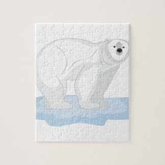 Ours blanc puzzle