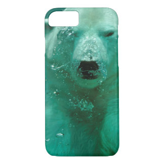 Ours blanc sous-marin coque iPhone 8/7