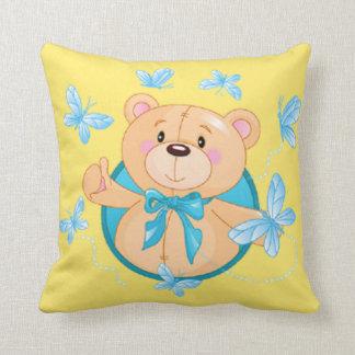 Ours de bébé oreillers
