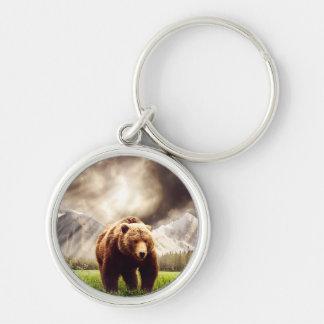 Ours de montagne porte-clés