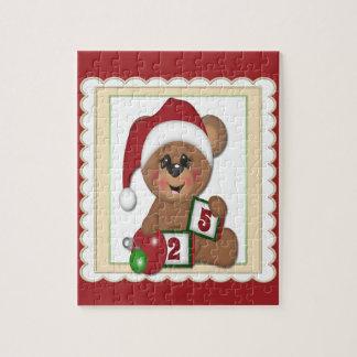 Ours de nounours de Père Noël Puzzle