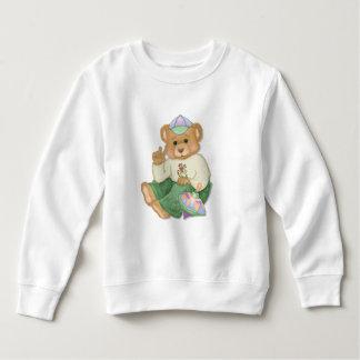 Ours de nounours de signe de paix sweatshirt