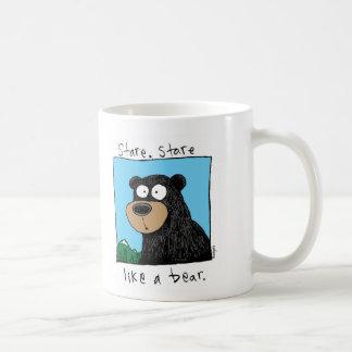ours de regard fixe mug