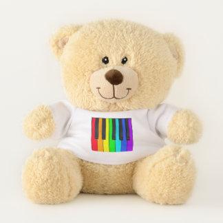 Ours En Peluche Le spectre colore le clavier de piano