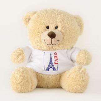Ours En Peluche Tour de Paris-Eiffel