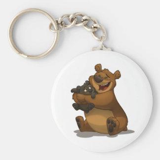 Ours et porte - clé de CUB Porte-clés