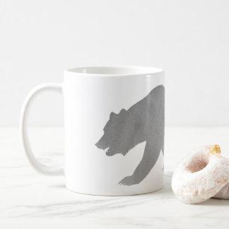 Ours gris gris de l'Alaska de tasse de café