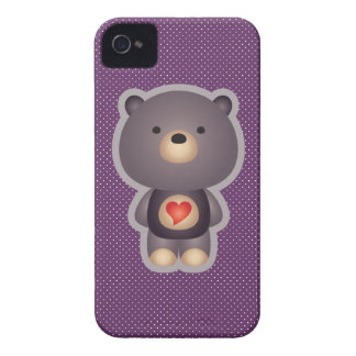 Ours mignon coques iPhone 4