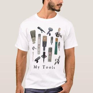 Outils audio d'ingénieur t-shirt