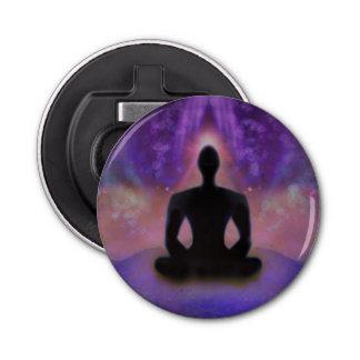 Ouvreur de bouteille de yoga de méditation ouvre-bouteilles