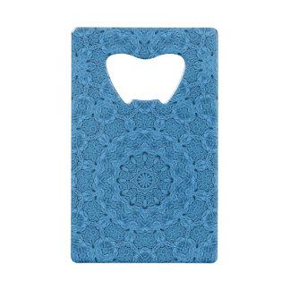 Ouvreur de bouteille vintage bleu décoratif de