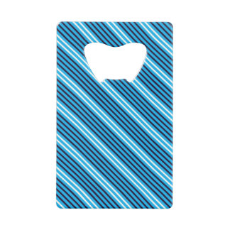 Ouvreur de carte de rayure bleue de groupe