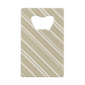 Ouvreur gris de carte de rayure