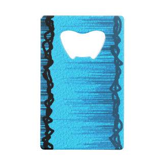 Ouvreur lumineux de linecard de noir bleu