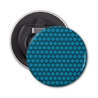 Ouvreur rond de point bleu-clair décapsuleur