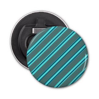 Ouvreur rond moderne de rayure bleue décapsuleur