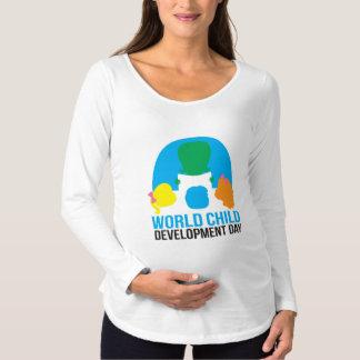 Overhemd van het het sleevet-shirt van het zwangerschapskleding