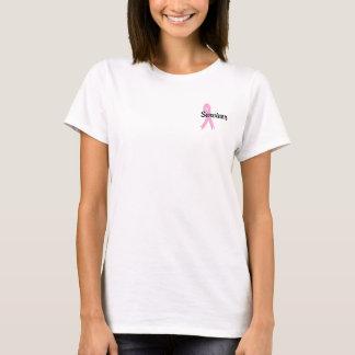 Overlevende 17 Kanker van de Borst T Shirt