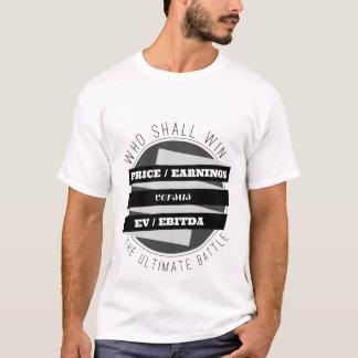 P/E Verhouding tegenover Verhouding EV/EBITDA T Shirt