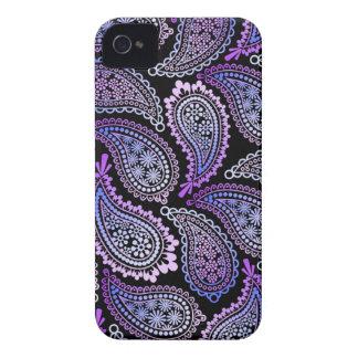 Paars iPhone4 4S Geval van Paisley