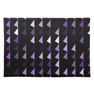 paars piramidepatroon 09 placemat