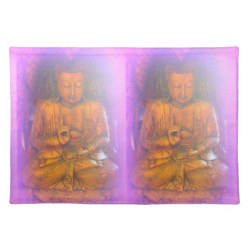paarse aurabuddhas placemat