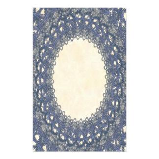 Pages bleues sans doublure de papeterie de la