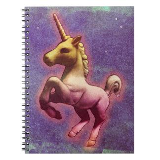 Pages du carnet 80 de photo de licorne (brume