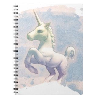 Pages du carnet 80 de photo de licorne (rêves de
