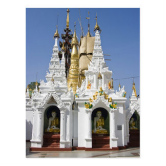 Pagoda de Shwedagon (Paya), grand site de temple Carte Postale
