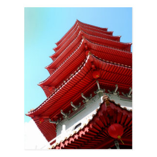 Pagoda - jardin chinois de Singapour - carte