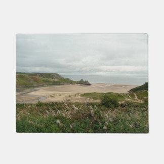 Paillasson Baie de 3 falaises - le Gower, Pays de Galles