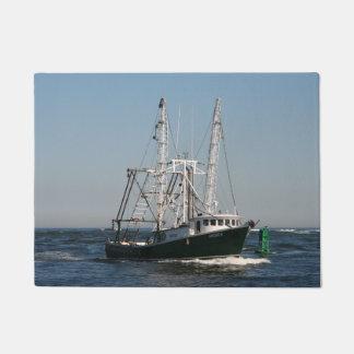 Paillasson Chalutier de pêche en mer