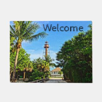Paillasson Côte du Golfe de la Floride de phare d'île de