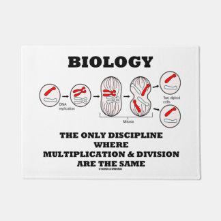 Paillasson Division de multiplication de discipline de