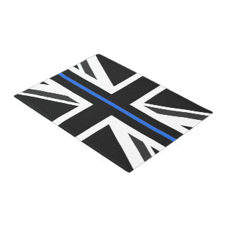 Paillasson Drapeau mince de Blue Line R-U